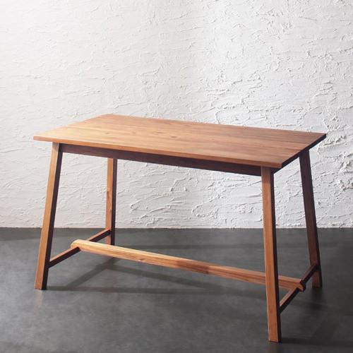 ダイニング テーブル 木脚 ブラウン 幅:120cm~129cm 奥行き:60cm~69cm 高さ:70cm~79cm キャスター無し エレガント カジュアル シンプル ナチュラル ベーシック モダン ラグジュアリー 北欧 木 角型 茶 ブラウン 背もたれ付き おしゃれ モダン シンプル ナチュラル 北欧