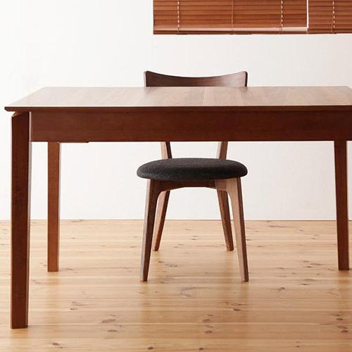 ダイニング テーブル 4人用 ブラウン 幅:120cm~129cm 幅:150cm~159cm 幅:180cm~189cm 奥行き:70cm~79cm 高さ:70cm~79cm エレガント カジュアル シンプル ナチュラル ベーシック 北欧 木 角型 茶 ブラウン おしゃれ カントリー シンプル ナチュラル 北欧 長方形