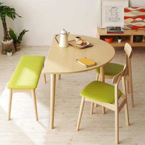 ダイニング テーブル 4人用 ブラウン 幅:130cm~139cm 奥行き:80cm~89cm 高さ:60cm~69cm エレガント カジュアル シンプル ナチュラル ベーシック 北欧 木 茶 ブラウン 茶 ダークブラウン おしゃれ 来客 シンプル ナチュラル 北欧 木製