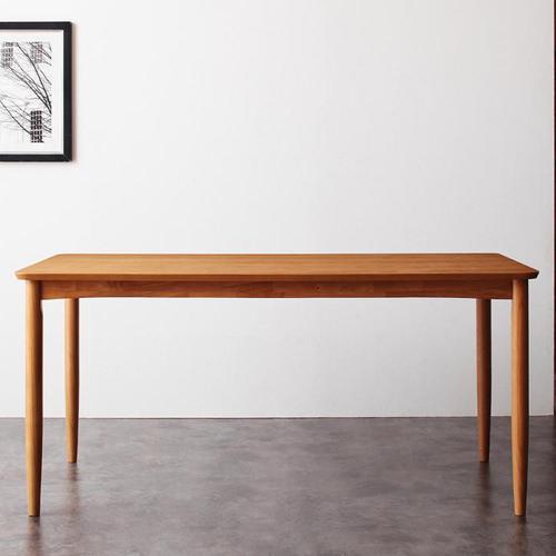 ダイニング テーブル 木脚 ブラウン 幅:150cm~159cm 奥行き:70cm~79cm 高さ:70cm~79cm カントリー クラシック シンプル ベーシック モダン 無地 木 角型 ベトナム 茶 ブラウン 70cm アンティーク かわいい おしゃれ クラシック モダン シンプル ナチュラル カントリー