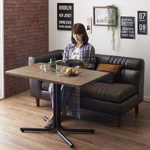 ダイニング テーブル 4人用 ブラウン キャスター無し クラシック シンプル ナチュラル ベーシック モダン レトロ 無地 木 3点 茶 ブラウン 3点 長方形 アンティーク モダン かわいい おしゃれ クラシック ヴィンテージ 応接 木製
