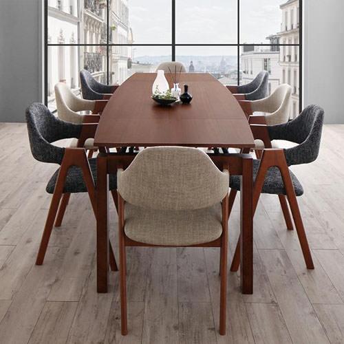 ダイニング セット 伸縮式テーブル グレー ベージュ カントリー クラシック シンプル ベーシック モダン 無地 木 灰 グレー アイボリー かわいい おしゃれ クラシック モダン シンプル ナチュラル カントリー 伸長 伸縮 木製