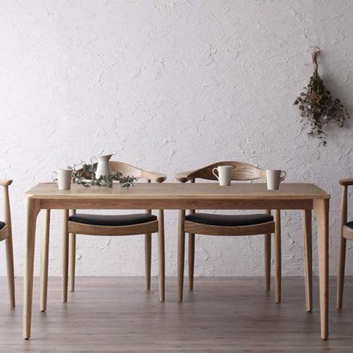 ダイニング テーブル 4人用 ブラウン 既成品 カジュアル シンプル ベーシック 北欧 無地 木 5点 茶 ブラウン 5点 かわいい おしゃれ シンプル ナチュラル 北欧 来客 天然木