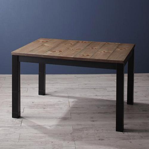 ダイニング テーブル 木脚 ブラウン キャスター無し 既成品 クラシック シンプル ベーシック モダン 無地 木 5点 茶 ブラウン 5点 モダン おしゃれ クラシック シンプル カントリー 高さ調整可 来客 天然木