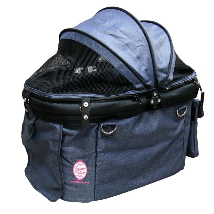 ファンタジーワールド ディア・スイートハートバッグ 単品 デニム SHB-12 (ペットカート専用バッグ)