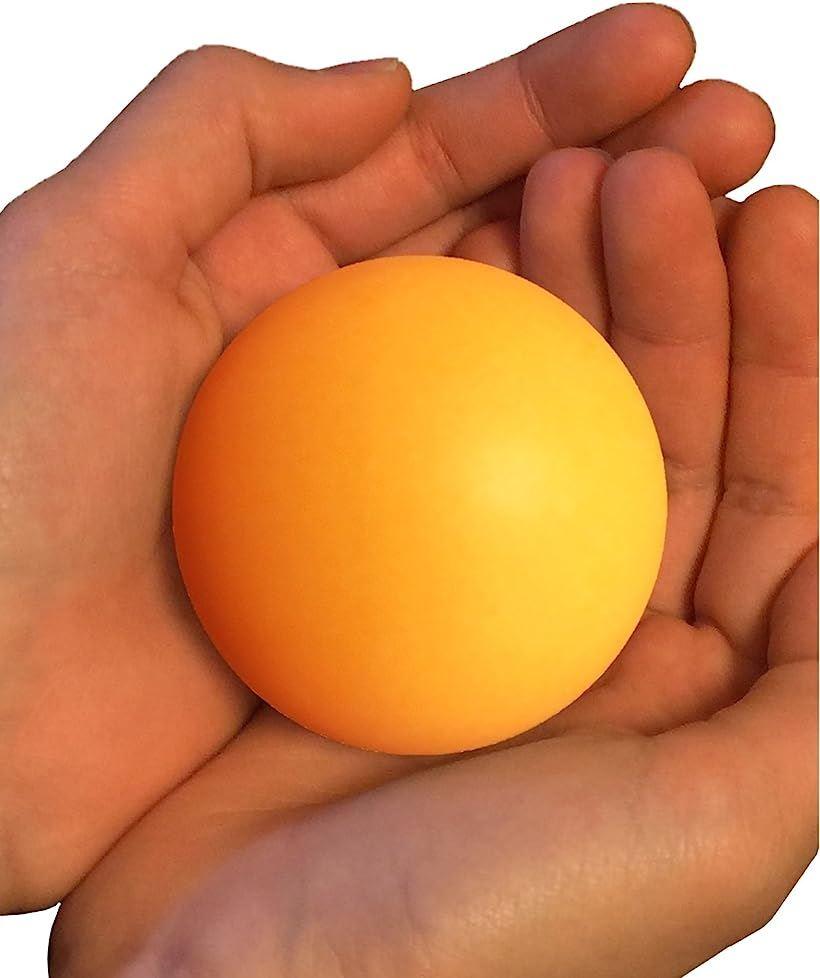 TAKASUE 大きい ピンポン玉 55mm おもしろおもちゃ 卓球 黄 驚きの値段 6個 ボール 今季も再入荷