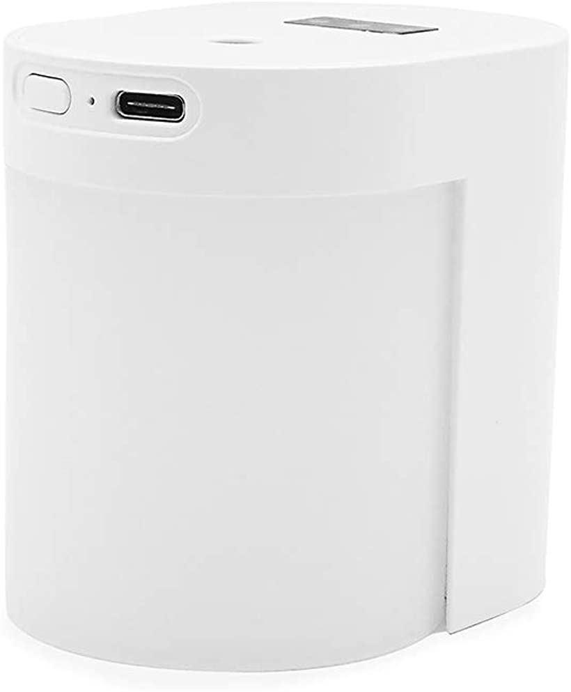 ノーブランド品 アルコール自動感知ディスペンサー コンパクト ホワイト x H76mm おすすめ L84xW60 MDM ストアー