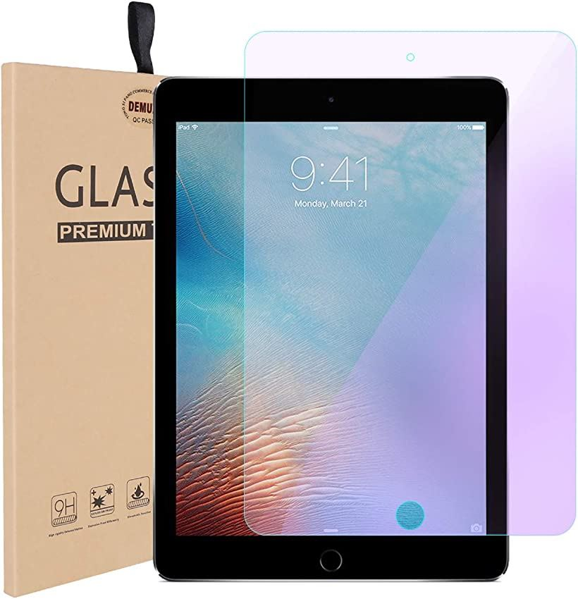DEMUXI  新型iPad 2018 2017 9.7インチ フィルム air/air2 強化ガラスフィルム キズ防止 指紋防止 衝撃吸収(iPad Pro 2018/2017 9.7)