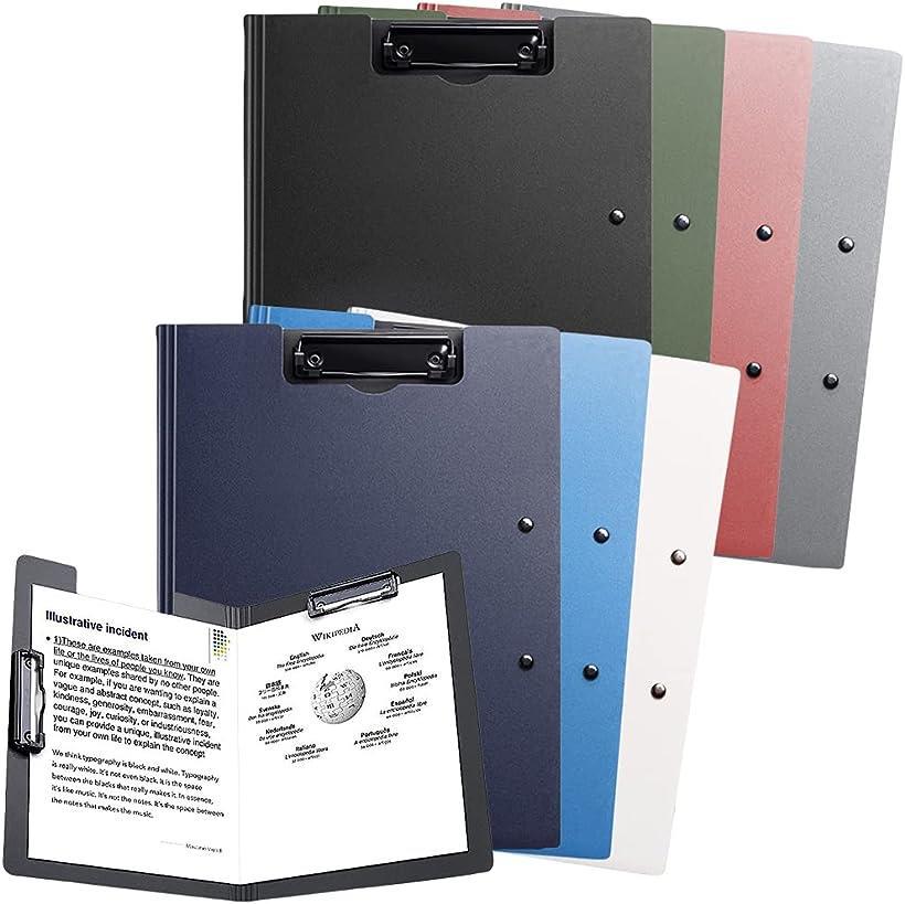 至上 FUPUTWO クリップボード クリップファイル A3 7色セット バインダー お得セット ファイルケース