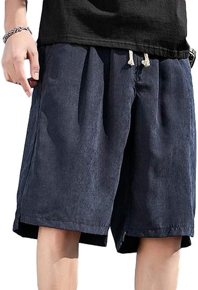 BENQUE ベンケ ハーフパンツ メンズ カジュアル いよいよ人気ブランド 短パン 春 夏 無地 おしゃれ M 普段着 ゆったり 半ズボン 70%OFFアウトレット 5分丈 男 ネイビー