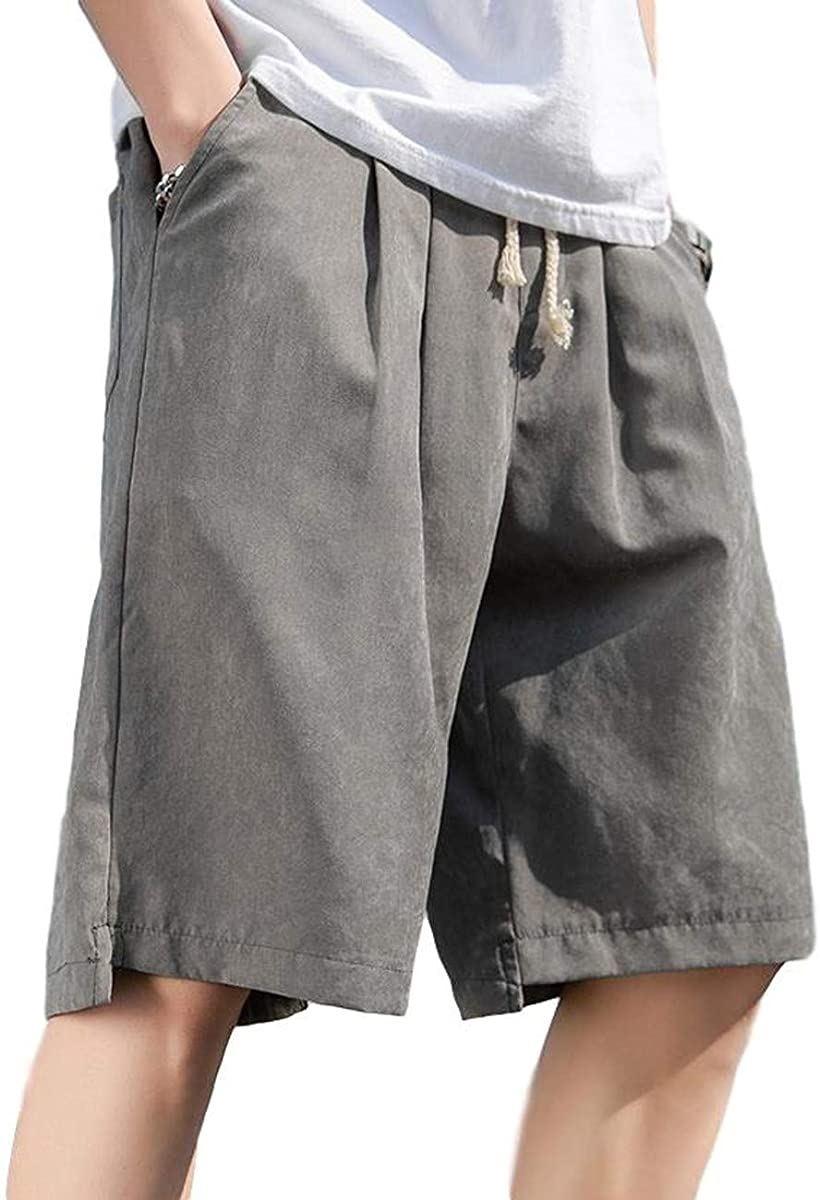 BENQUE ベンケ ハーフパンツ メンズ カジュアル 全店販売中 短パン 春 夏 無地 グレー 普段着 半ズボン アウトレット 2XL ゆったり 5分丈 おしゃれ 男