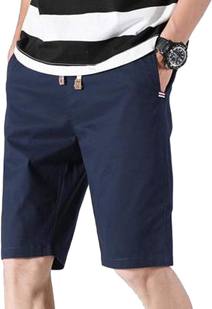 BENQUE ベンケ 売れ筋 ハーフパンツ メンズ 5分丈 短パン きれいめ M カジュアル ネイビー 半ズボン 大人 買収 ネイビー,M 無地