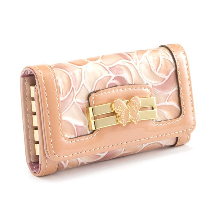 展示品箱なし アナスイ キーケース ピンク ANNA SUI 305593-33 レディース 婦人