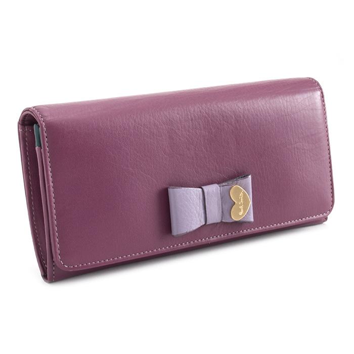 展示品箱なし ポールスミス 財布 長財布 ローズ(紫がかったローズです。) Paul Smith pww784-23 レディース 婦人