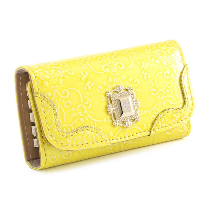 アナスイ キーケース 黄色 ANNA SUI 310494-60 レディース 婦人