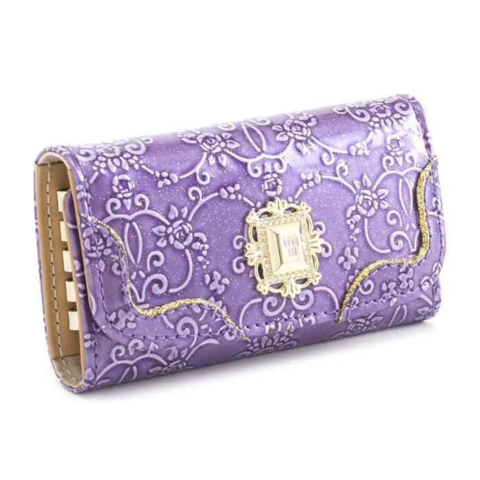展示品箱なし アナスイ キーケース 紫 ANNA SUI 310494-90 レディース 婦人