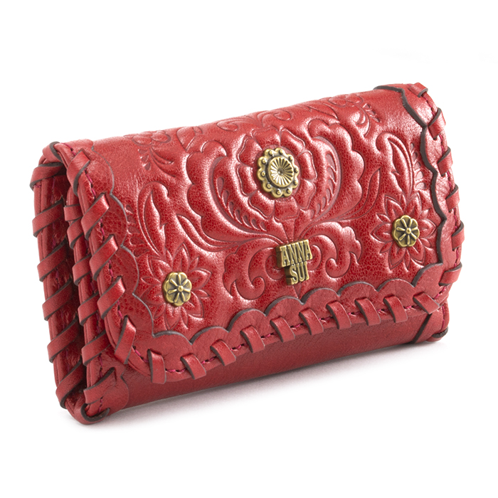 展示品箱なし アナスイ キーケース 赤 ANNA SUI 311323-30 レディース 婦人