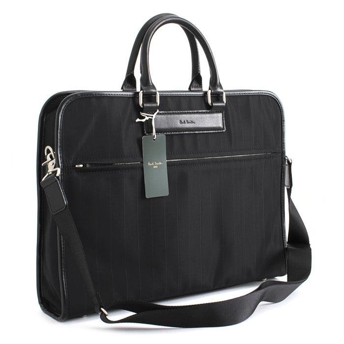 ポールスミス バッグ ビジネスバッグ 2wayバッグ ブラック Paul Smith psr460-10 メンズ 紳士
