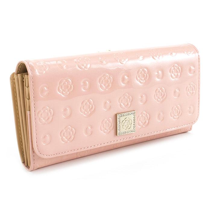 クレイサス 財布 長財布 がま口財布 ピンク CLATHAS 182260-37 レディース 婦人