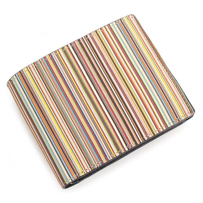 ポールスミス 財布 二つ折り財布 マルチ Paul Smith psc084-17 メンズ 紳士