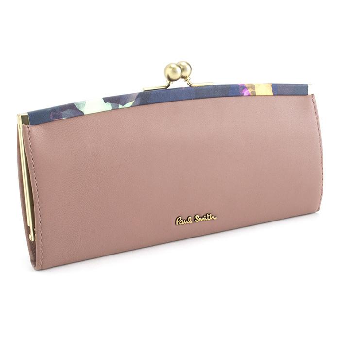 ポールスミス 財布 長財布 がま口財布 Paul Smith ローズ pwu765-24 レディース 婦人