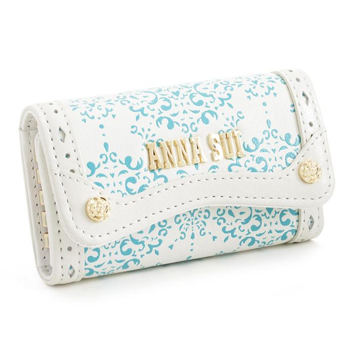 展示品箱なし アナスイ キーケース 白(ホワイト) ANNA SUI 311605-00 レディース 婦人