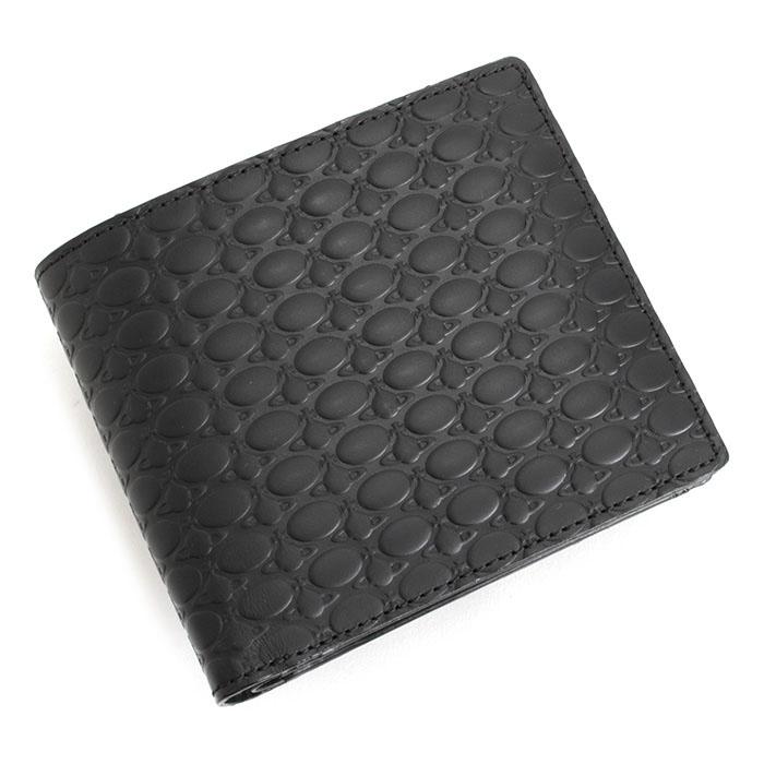 ヴィヴィアンウエストウッド 財布 二つ折り財布 黒(ブラック) Vivienne Westwood ACCESSORIES vwk064-10