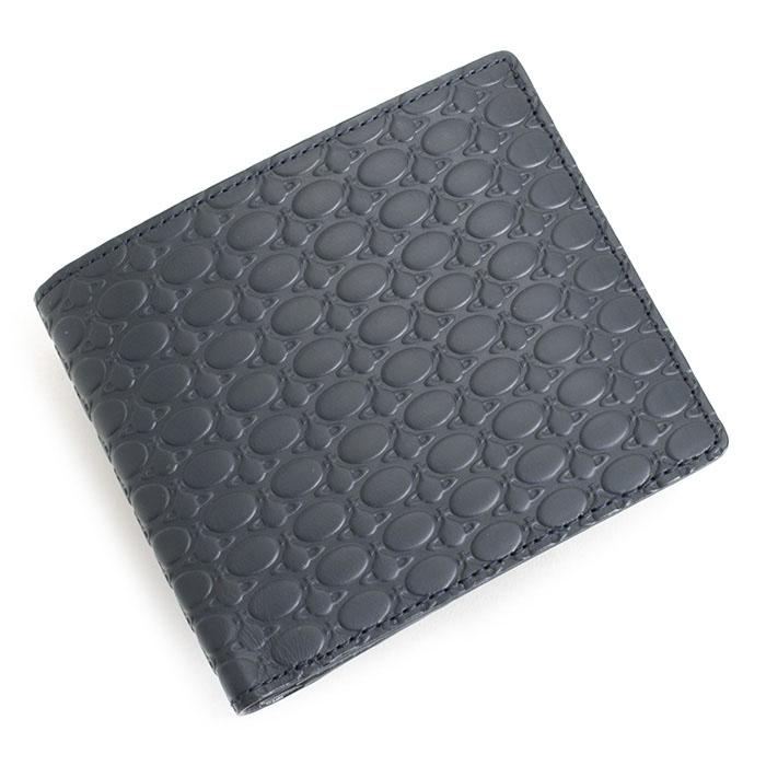 ヴィヴィアンウエストウッド 財布 二つ折り財布 紺(ネイビー) Vivienne Westwood ACCESSORIES vwk064-30
