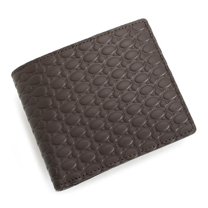 ヴィヴィアンウエストウッド 財布 二つ折り財布 チョコ Vivienne Westwood ACCESSORIES vwk064-71 【送料無料】