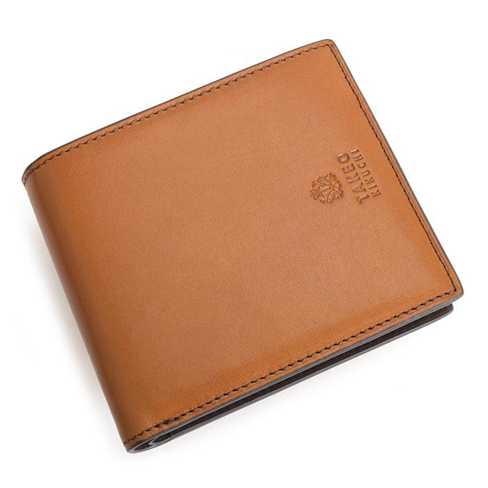 タケオキクチ 財布 二つ折り財布 キャメル TAKEOKIKUCHI 730601 メンズ 紳士 【送料無料】