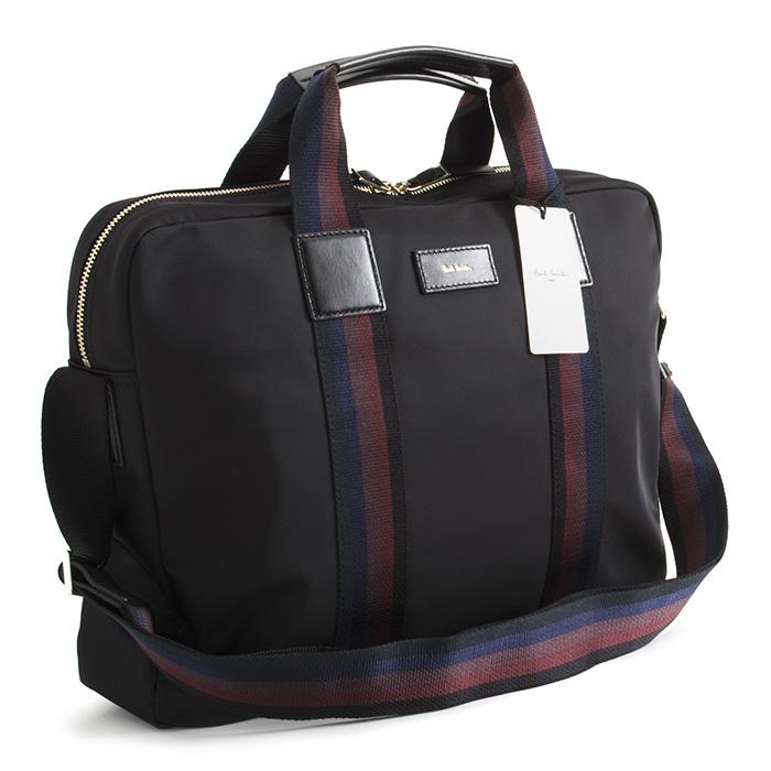 ポールスミス バッグ ビジネスバッグ 2wayバッグ 黒(ブラック) Paul Smith psn213-10 メンズ 紳士 【送料無料】