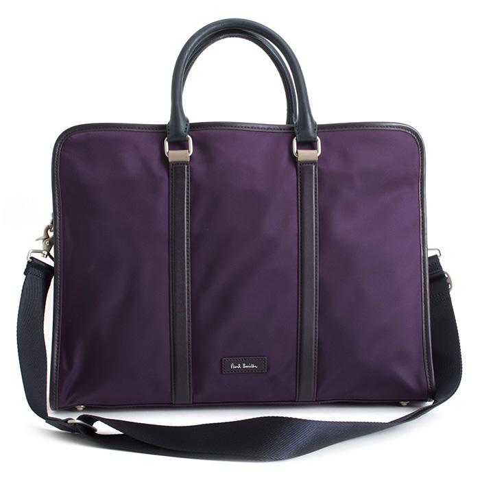 ポールスミス バッグ ビジネスバッグ 2wayバッグ 紫(パープル) Paul Smith psr883-34 メンズ 紳士 【送料無料】