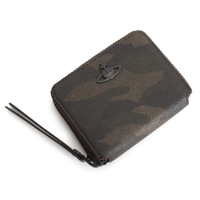 ヴィヴィアンウエストウッド 財布 小銭入れ ラウンドファスナー チョコ Vivienne Westwood ACCESSORIES vwk016-71 【送料無料】