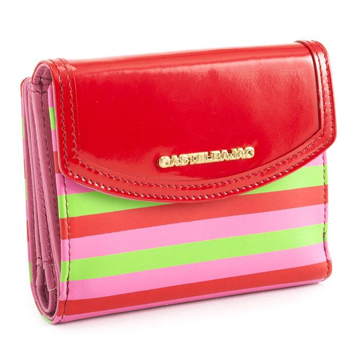 カステルバジャック 財布 二つ折り財布 赤(レッド) CASTELBAJAC 083601 メンズ 紳士 【送料無料】