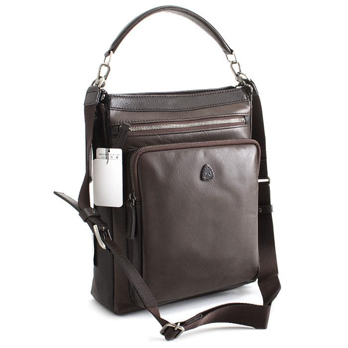 フジタカ バッグ ショルダーバッグ ハンドバッグ チョコ FUJITAKA 043151 メンズ 紳士 【送料無料】