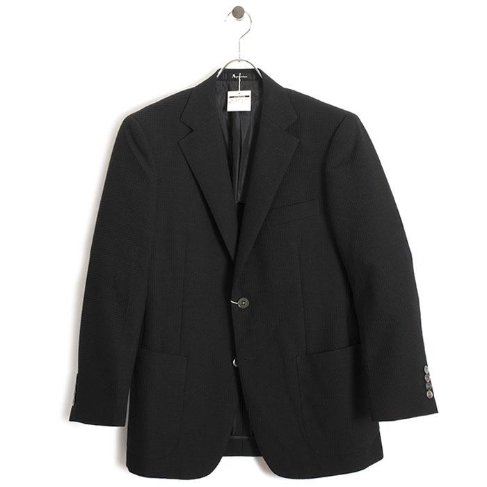 展示品 アクアスキュータム ジャケット BB4(Sサイズ相当) シングルジャケット Aquascutum 黒(ブラック) a9126131-99 メンズ 紳士