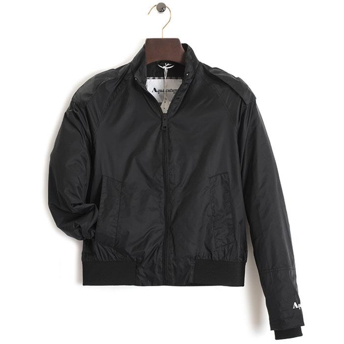 展示品 アクアスキュータム ジャケット Sサイズ カジュアルジャケット Aquascutum 黒(ブラック) f1830343 メンズ 紳士