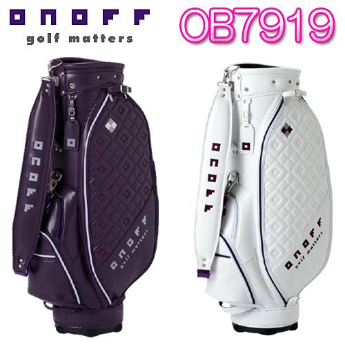 【NEW キャディバッグ】OB7919 レディース2019モデルONOFF グローブライド8.5型 3.3kg 46インチ 合成皮革(PU)【送料無料】【ゴルフ】