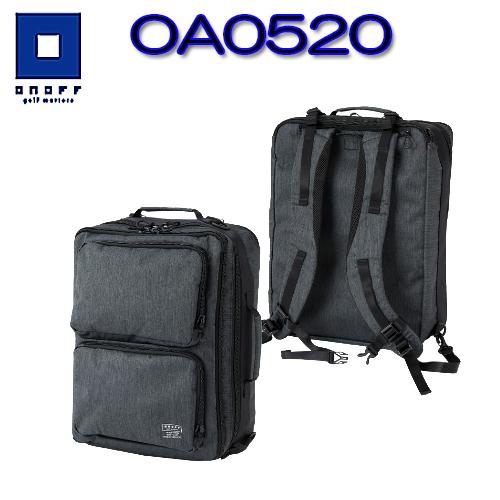 【2020モデル】オノフ OA0520バックパックONOFF グローブライド3WAY パソコン収納ポケット付き【送料無料】【ゴルフ】