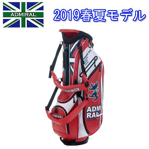 【2019春夏モデル】キャディバッグ ADMG9SC8アドミラルゴルフ Admiral Golfライトウェイト ST9型46インチ対応2.1kg あす楽【送料無料】【ゴルフ】