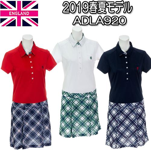 【2019 春夏モデル】チェック ワンピース ADLA920 Admiral アドミラルレディースゴルフウェア(19SS) あす楽【送料無料】【ゴルフ】