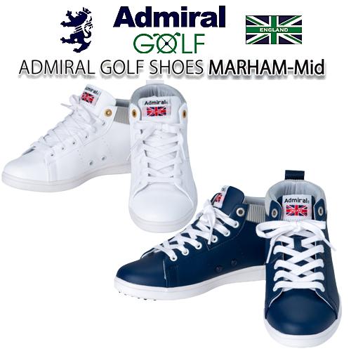 【2019 秋冬モデル】スパイクレス ハーマム ハイカット ゴルフ シューズADMS9F アドミラル ゴルフ Admiral Golf3.5Eあす楽【送料無料】【ゴルフ】