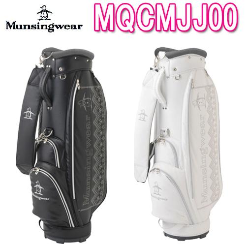 【2018 秋冬モデル】MQCMJJ00 レディース 軽量キャディバッグ Munsing wear マンシングウェア8.5型 46インチ 2.7kg合成皮革(PU加工) フード付き18FW【送料無料】【ゴルフ】