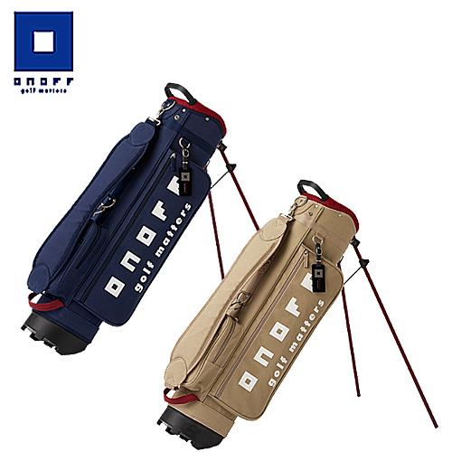 【2017モデル】OB1517 キャディバッグオノフ ONOFF グローブライド7型 2.4kg 47インチ対応 綿 収納可能本数10本程度フードカバー付き【ゴルフ】