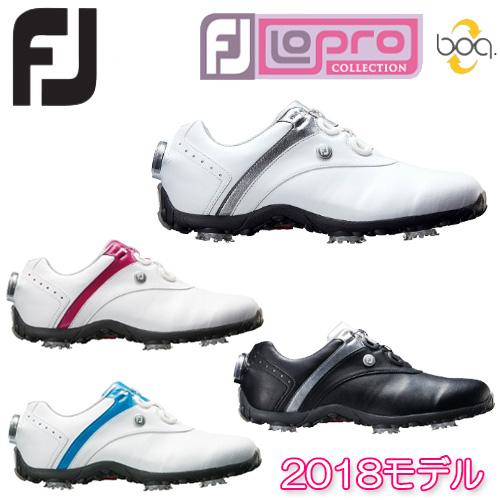 【2018モデル】レディース ゴルフシューズLoPro SPORTS SPIKE Boa FOOT JOY フットジョイWomens ウィメンズ 女性【ゴルフ】