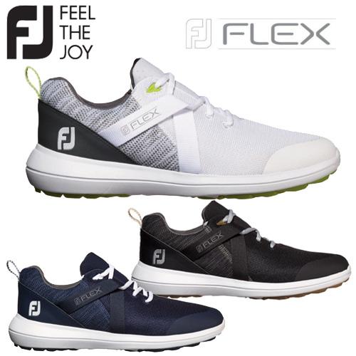 【2019モデル】フットジョイ フレックス メンズ ゴルフシューズFOOT JOY FJ FLEXスパイクレス 男性【ゴルフ】