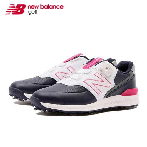 【NEW】スパイク WGB996 N2レディース New Balance NB ニューバランスゴルフシューズ ネイビー日本正規品あす楽【送料無料】【ゴルフ】