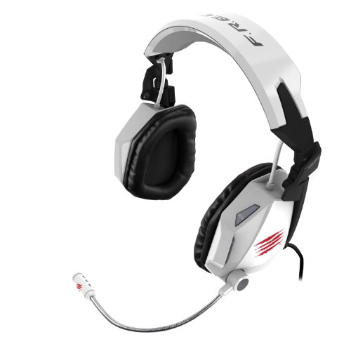 ヘッドセット(オーバーヘッド) Mad Catz Cyborg F.R.E.Q. Stereo Gaming Headset for PC & Mac MC-FREQ5C ホワイト