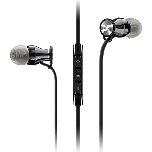 ゼンハイザー イヤホン MOMENTUM In-Ear i Black Chrome