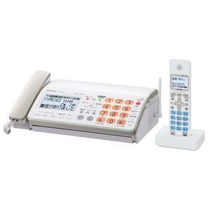 SHARP FAX fappy UX-600CL-W ホワイト